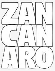 Logo ZAN -CAN - ARO sous la forme d'un monogramme.